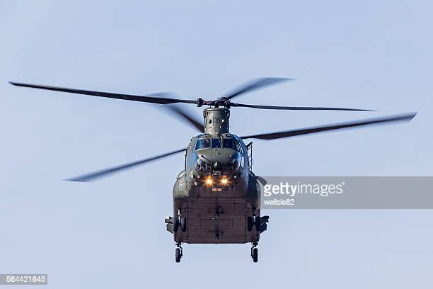 Face on with an RAF Chinook