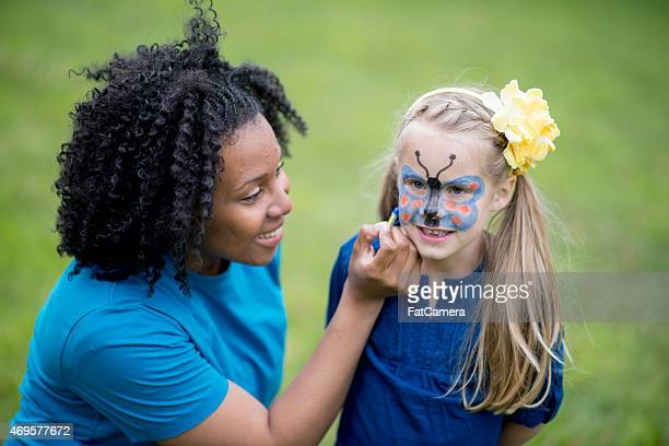 Face Painting at the Park
