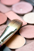 Face powder Cosmetics with Brush