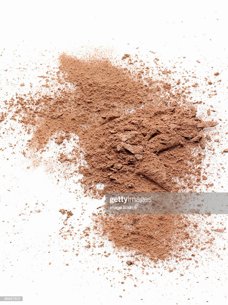 Face powder : Stock Photo