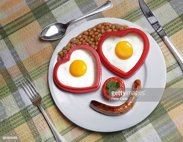 face shaped breakfast on plate