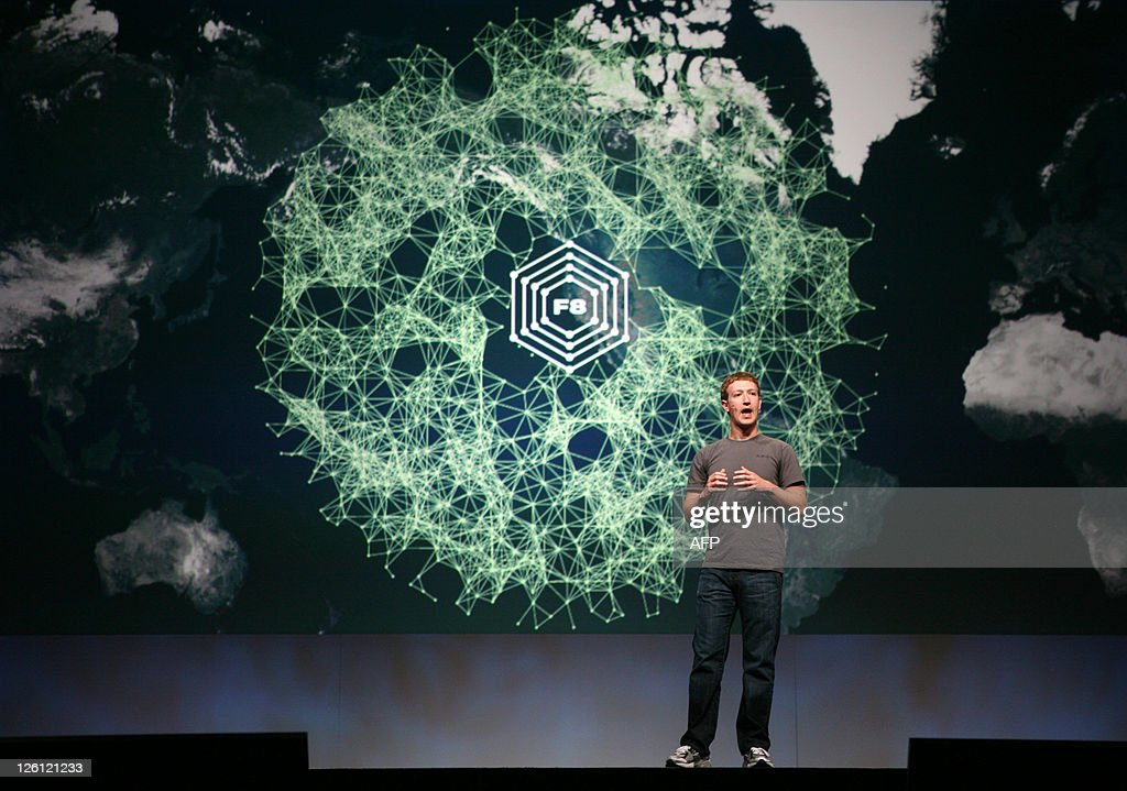 Facebook CEO Mark Zuckerberg delivers a keynote during the Facebook f8 Developer Conference at the San Francisco Design Center in San Francisco on September 22, 2011 in California. AFP PHOTO/Kimihiro Hoshino