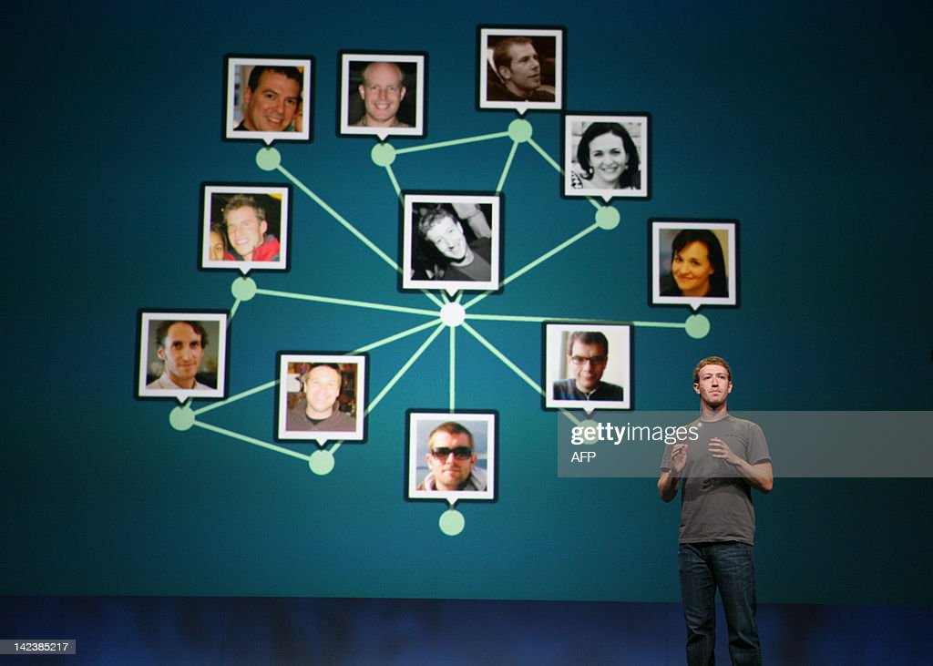 Facebook CEO Mark Zuckerberg delivers a keynote during the Facebook f8 Developer Conference at the San Francisco Design Center in San Francisco on September 22, 2011 in California. AFP PHOTO / Kimihiro Hoshino