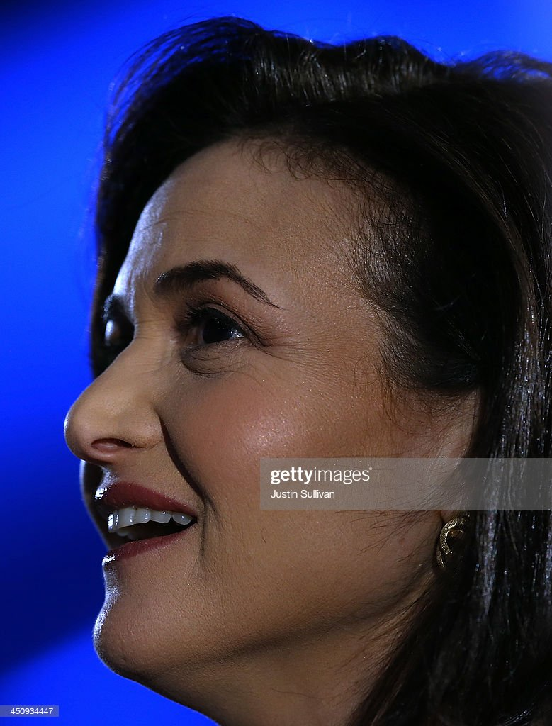 Facebook COO <a gi-track='captionPersonalityLinkClicked' href=/galleries/search?phrase=Sheryl+Sandberg&family=editorial&specificpeople=5922850 ng-click='$event.stopPropagation()'>Sheryl Sandberg</a> looks on before speaking in conversation with Salesforce chairman and CEO Marc Benioff at the 2013 Dreamforce conference on November 20, 2013 in San Francisco, California. The annual Dreamforce conference runs through November 21.