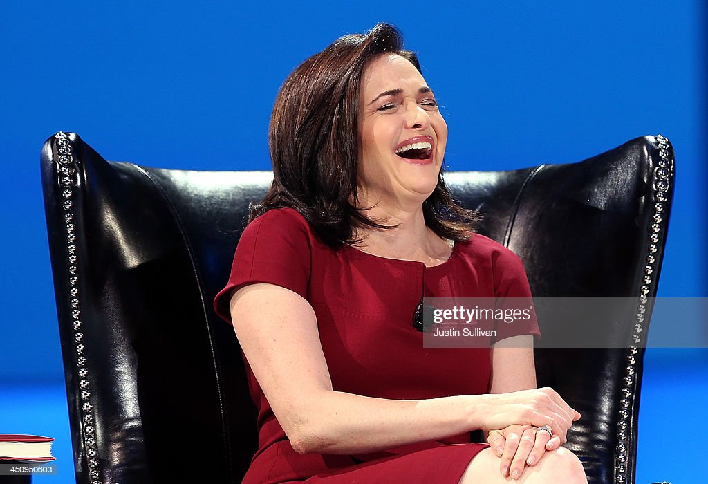 Facebook COO <a gi-track='captionPersonalityLinkClicked' href=/galleries/search?phrase=Sheryl+Sandberg&family=editorial&specificpeople=5922850 ng-click='$event.stopPropagation()'>Sheryl Sandberg</a> participates in a conversation with Salesforce chairman and CEO Marc Benioff at the 2013 Dreamforce conference on November 20, 2013 in San Francisco, California. The annual Dreamforce conference runs through November 21.