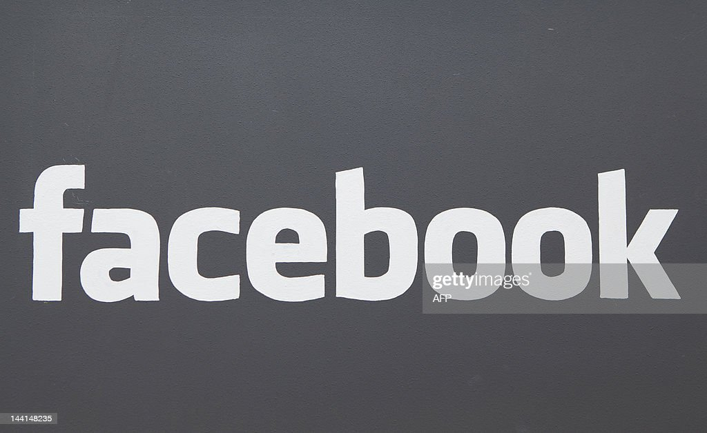 A Facebook sign is seen at the entrance of the Facebook headquarters in Menlo Park on May 10, 2012 in California. AFP PHOTO / Kimihiro HOSHINO