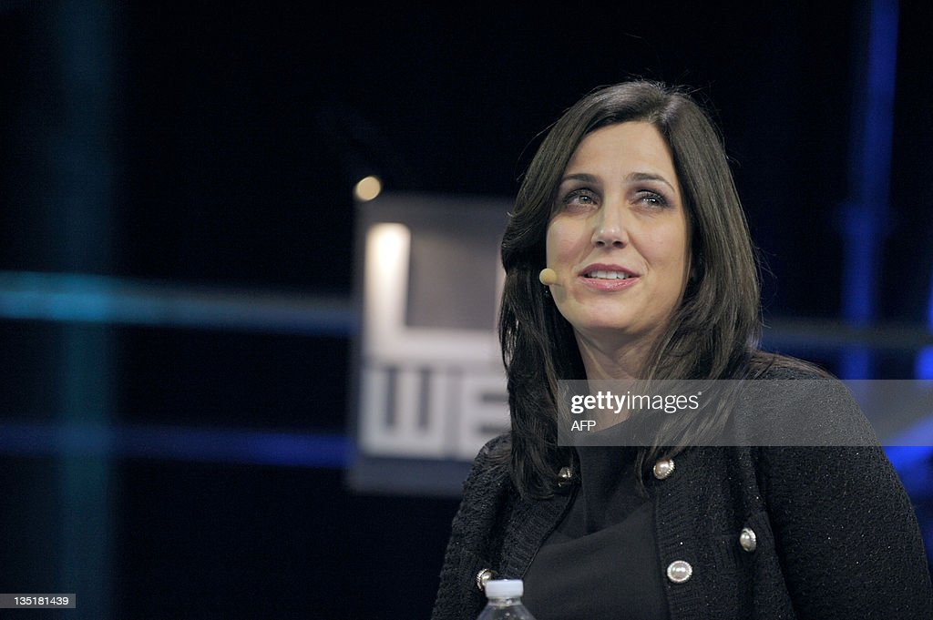 US Facebook' Vice-President and Marketing Director for EMEA (Europe, Middle East and Africa), US Joanna Shields, speaks during a plenary session of LeWeb 11 event in Saint-Denis, suburbs of Paris, on December 7, 2011. Around 3,000 participants from 60 countries around the world are expected at LeWeb. Top industry entrepreneurs, executives, investors, senior press & bloggers gather to explore the key issues and opportunities in the web marketplace.