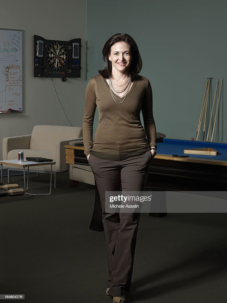 Facebook's vice-president for global online sales and operations, <a gi-track='captionPersonalityLinkClicked' href=/galleries/search?phrase=Sheryl+Sandberg&family=editorial&specificpeople=5922850 ng-click='$event.stopPropagation()'>Sheryl Sandberg</a> is photographed for The New Yorker on June 3, 2011 in Palo Alto, California.