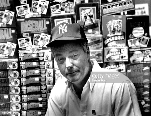 Faces picture of Ed Schalk the baseball card king Credit The Denver Post