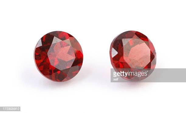 Faceted Garnets