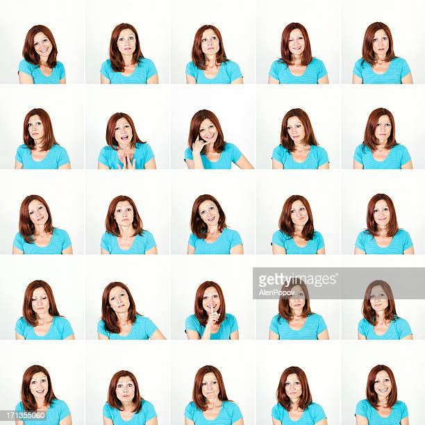 Expressão Facial de Mulher