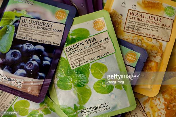Facial masks of South Korea's brand which are bought from Taobaocom by a Chinese customer Commercial relationship between China and South Korea's...