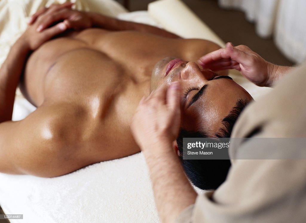 Facial Massage : Stock Photo