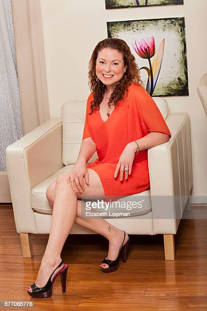Facialist Joanna Vargas is photographed for Wall Street Journal on May 28 2013 in New York City