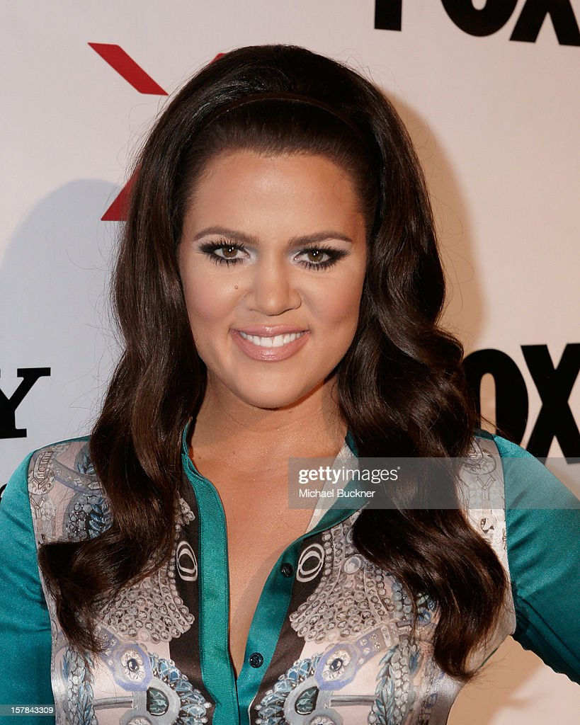 X Factor Host Khloe Kardashian attends The X Factor Viewing Party Sponsored By Sony X Headphones at Mixology101 & Planet Dailies on December 6, 2012 in Los Angeles, United States.