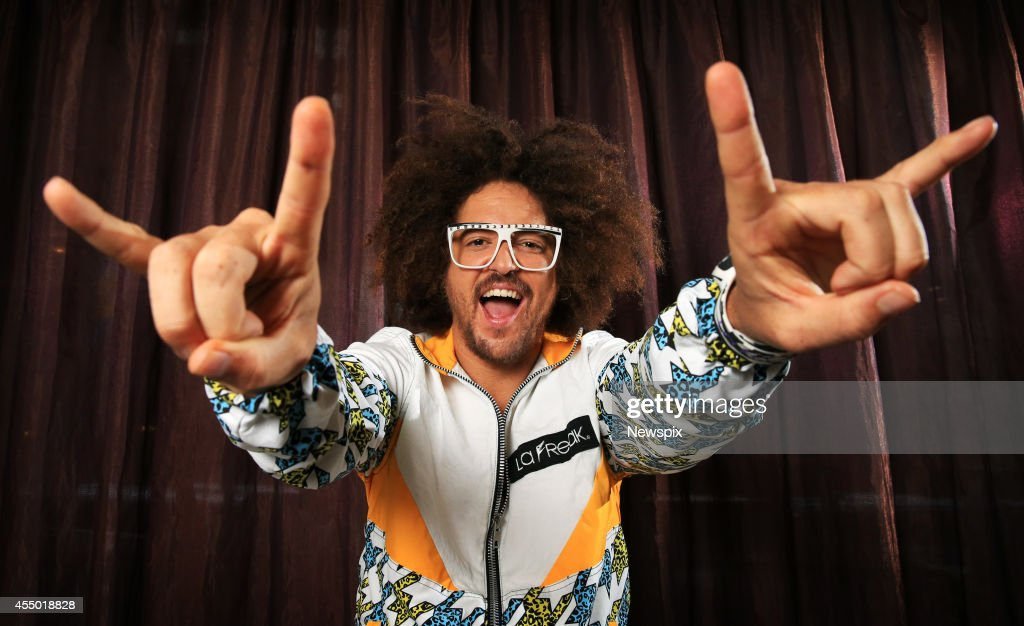 'X Factor' judge Redfoo poses during a photo shoot at Channel Seven studios, Martin Place on August 11, 2014 in Sydney, Australia.