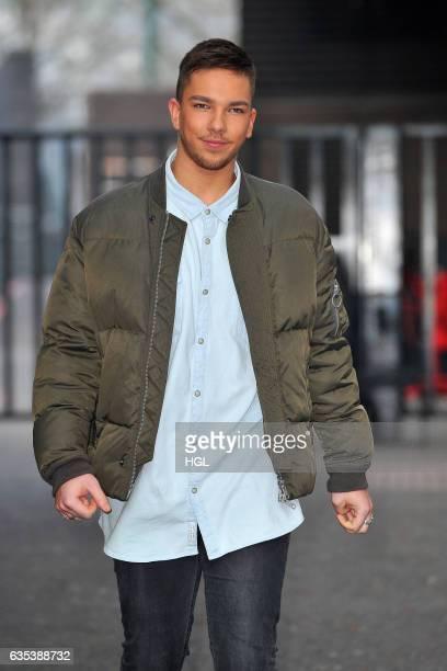 Factor winner Matt Terry seen at the ITV Studios on February 15 2017 in London England
