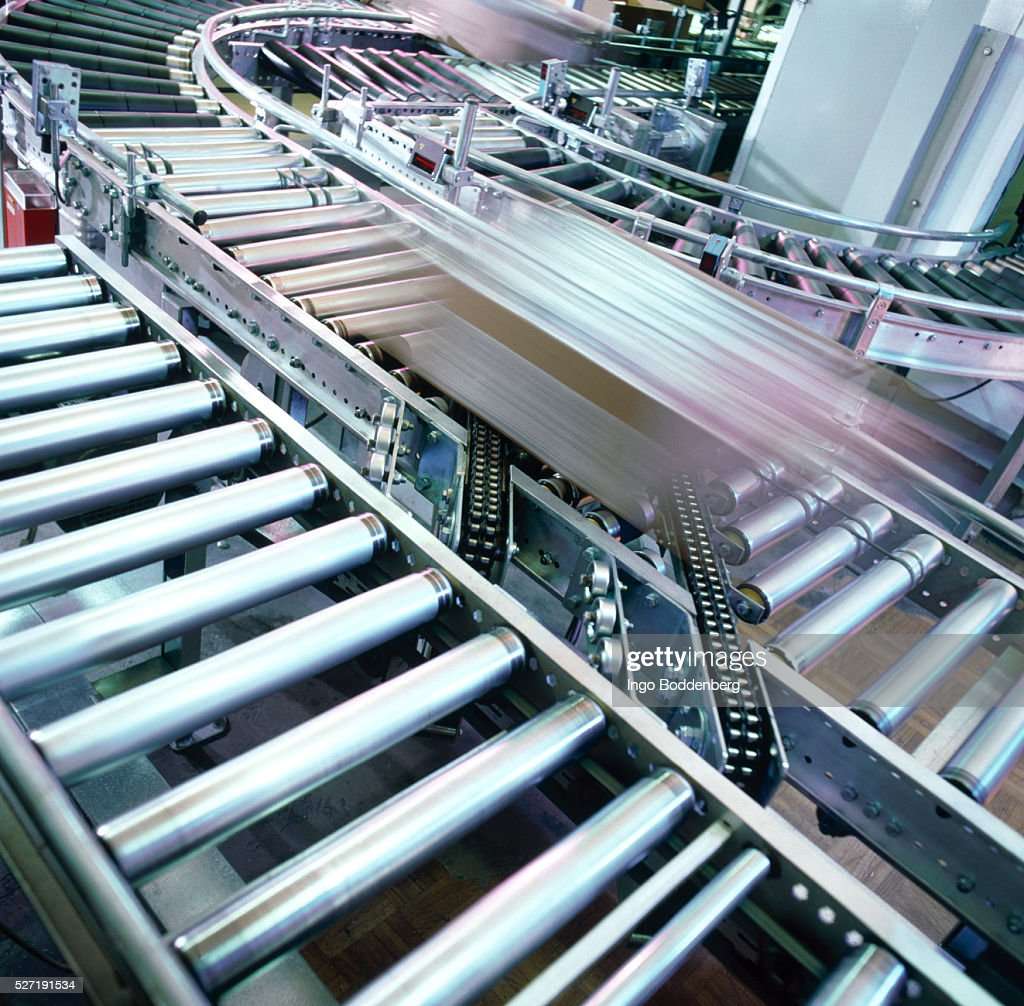 Factory conveyor belt