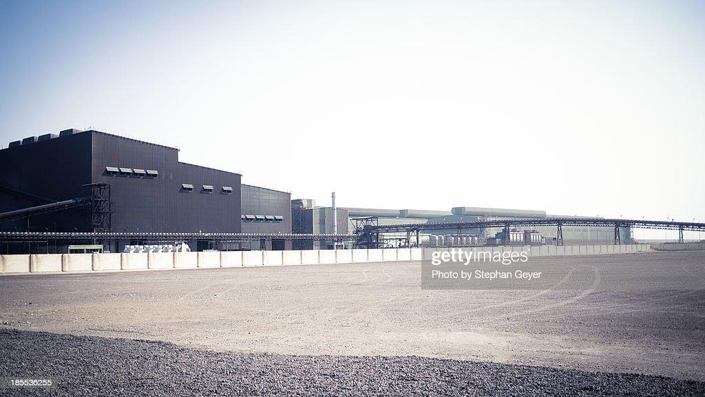 Factory deep in the Desert