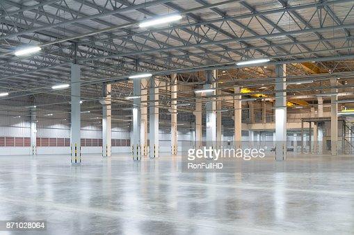 Fabrik-Etage-Hintergrund : Stock-Foto