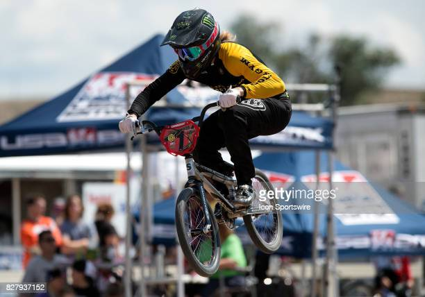 Factory Golds Gym racer Triston 'LimeTime' Judd takes the win in the 1718 Expert and 1720 Open main events at the USA BMX Mile High Nationals on...