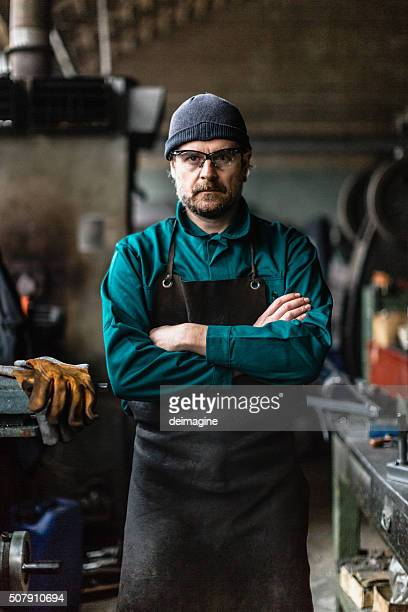 Factory Man portrait
