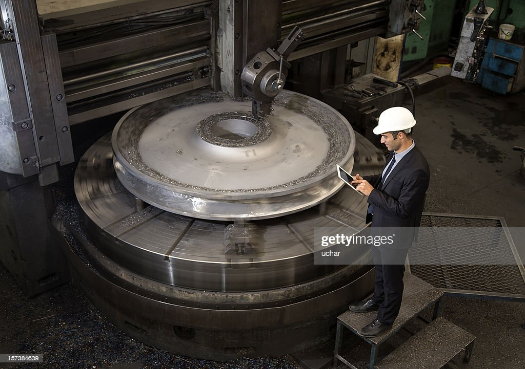 Factory  Manager : Stock Photo