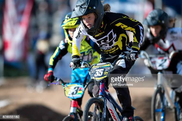 Factory Rift's Breanna Winter finished second in the 12 Girls class at the USA BMX Mile High Nationals on August 6 at Grand Valley BMX in Grand...