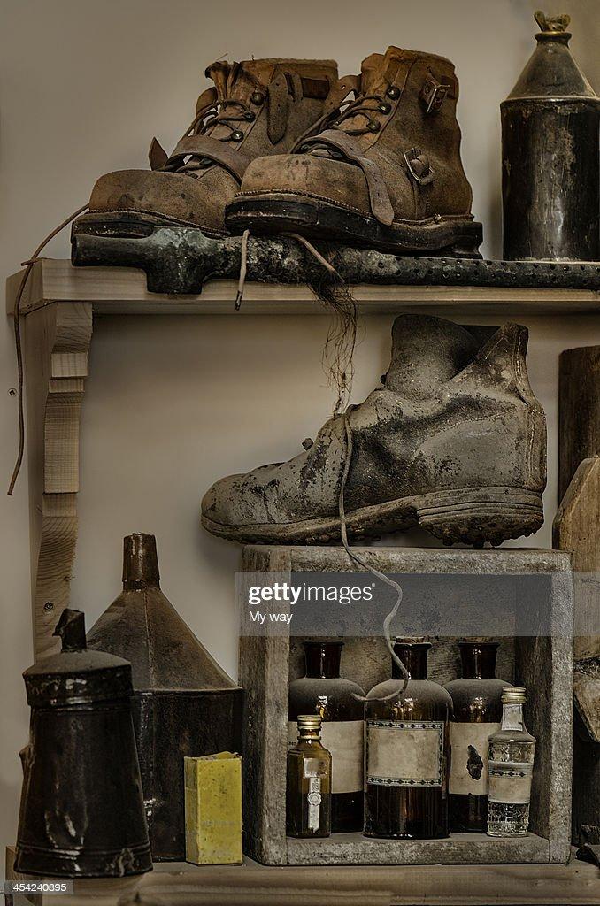 Factory shelves : Stock Photo