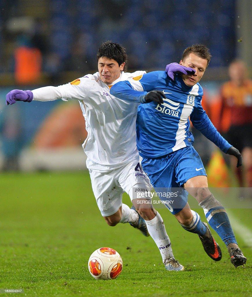 FC Dnipro Dnipropetrovsk v ACF Fiorentina UEFA Europa League