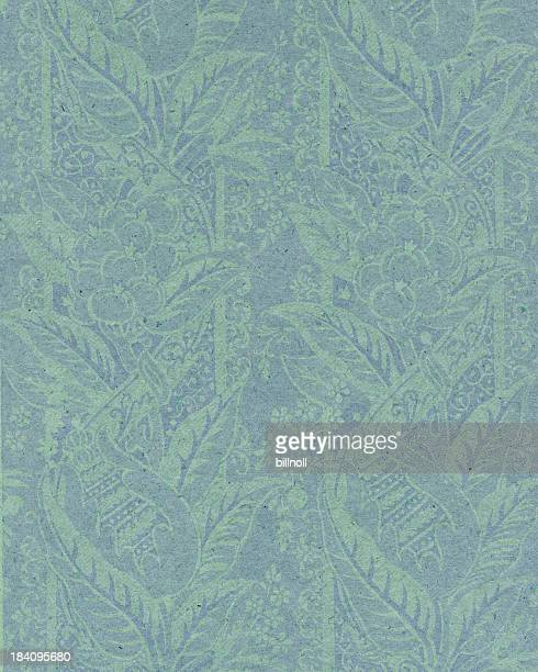 faded paper with floral ornament