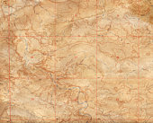 Faded Topographical Background