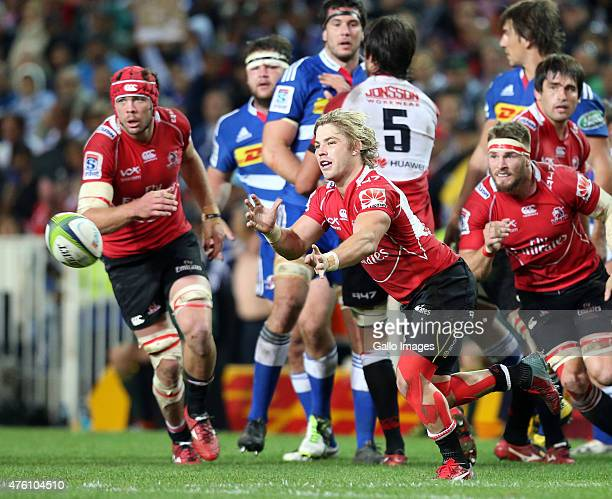Faf de Klerk of Lions during the Super Rugby match between DHL Stormers and Emirates Lions at DHL Newlands Stadium on June 06 2015 in Cape Town South...
