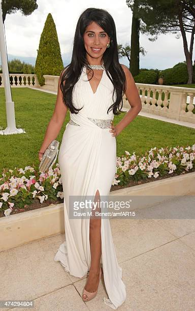 Fagun Thakrar arrives at amfAR's 22nd Cinema Against AIDS Gala Presented By Bold Films And Harry Winston at Hotel du CapEdenRoc on May 21 2015 in Cap...