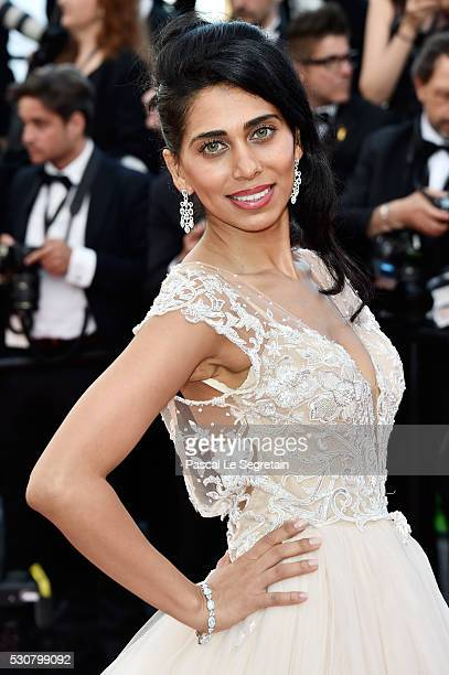 Fagun Thakrar arrives at the Opening Gala Dinner during the 69th Annual Cannes Film Festival on May 11 2016 in Cannes France