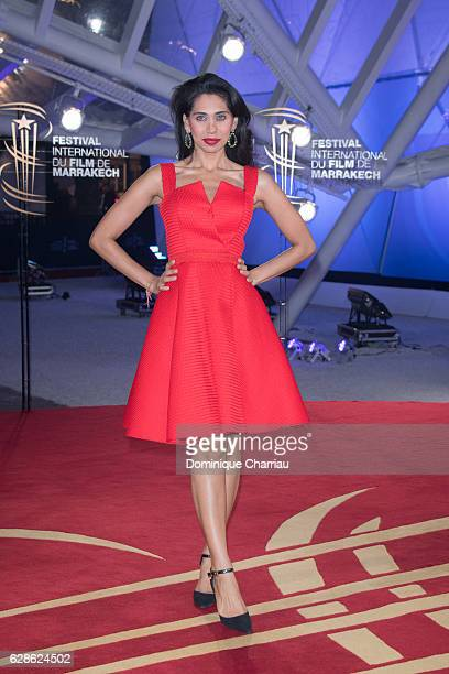 Fagun Thakrar attends 6th Marrakech International Film Festival Day Seven on December 8 2016 in Marrakech Morocco