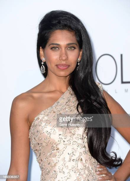 Fagun Thakrar attends amfAR's 20th Annual Cinema Against AIDS during The 66th Annual Cannes Film Festival at Hotel du CapEdenRoc on May 23 2013 in...