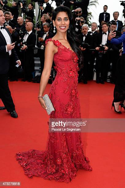 Fagun Thakrar attends Premiere of 'Mad Max Fury Road' during the 68th annual Cannes Film Festival on May 14 2015 in Cannes France
