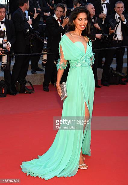 Fagun Thakrar attends the 68th annual Cannes Film Festival on May 17 2015 in Cannes France