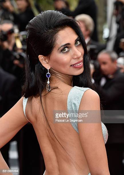 Fagun Thakrar attends 'The BFG ' premiere during the 69th annual Cannes Film Festival at the Palais des Festivals on May 14 2016 in Cannes France