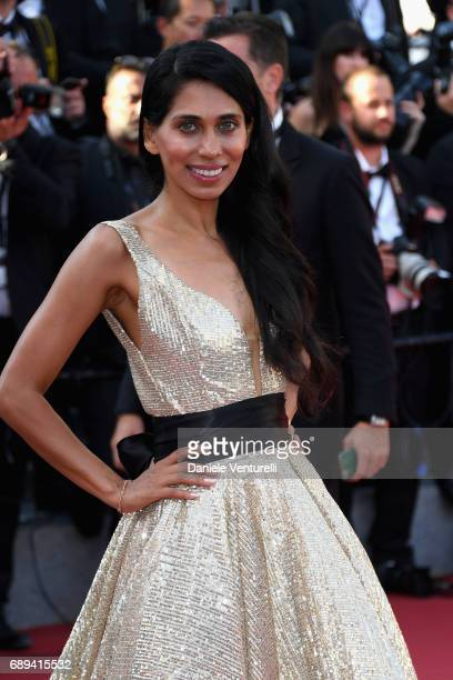 Fagun Thakrar attends the Closing Ceremony of the 70th annual Cannes Film Festival at Palais des Festivals on May 28 2017 in Cannes France