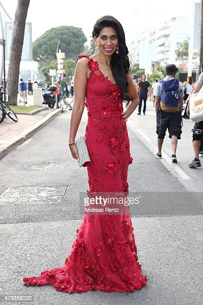 Fagun Thakrar attends the Magnum photocall during the 68th annual Cannes Film Festival on May 14 2015 in Cannes France