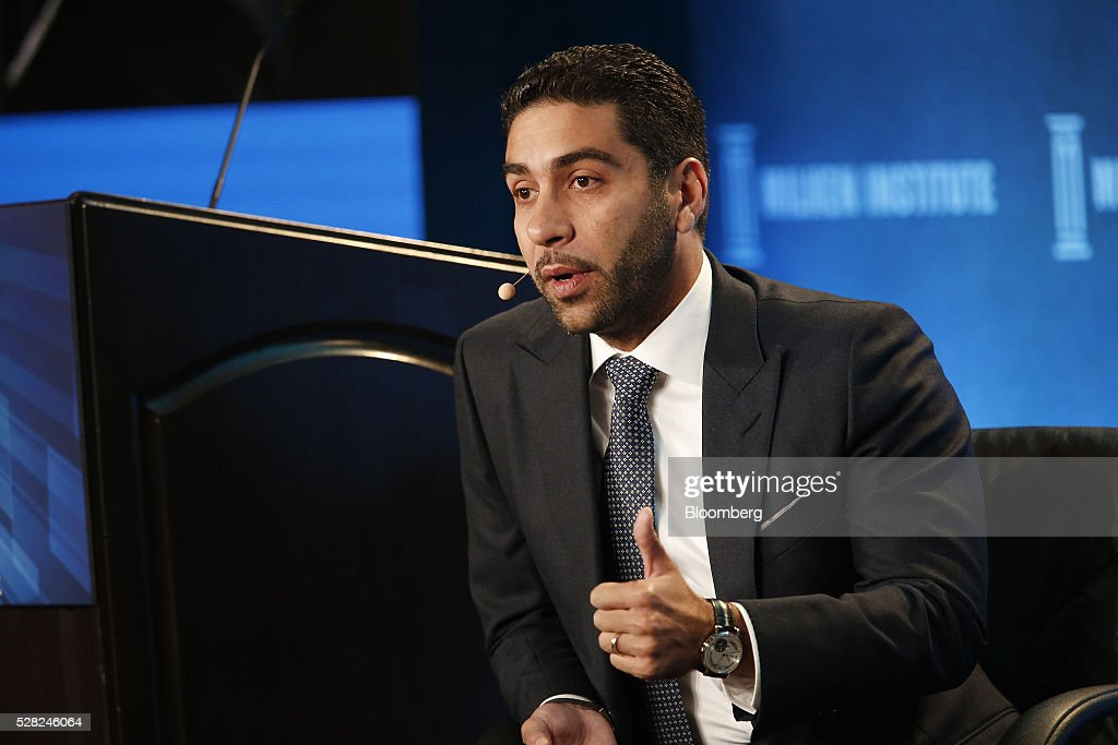 Fahd Al-Rasheed, group chief executive officer and managing director of Emaar Economic City, speaks during the annual Milken Institute Global Conference in Beverly Hills , California, U.S., on Wednesday, May 4, 2016. The conference gathers attendees to explore solutions to today's most pressing challenges in financial markets, industry sectors, health, government and education. Photographer: Patrick T. Fallon/Bloomberg via Getty Images