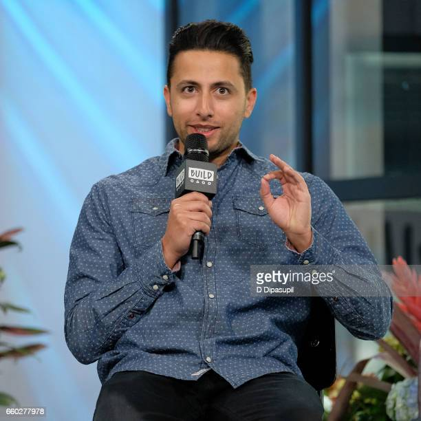 Fahim Anwar attends the Build Series to discuss 'There's No Business Like Show Business' at Build Studio on March 29 2017 in New York City