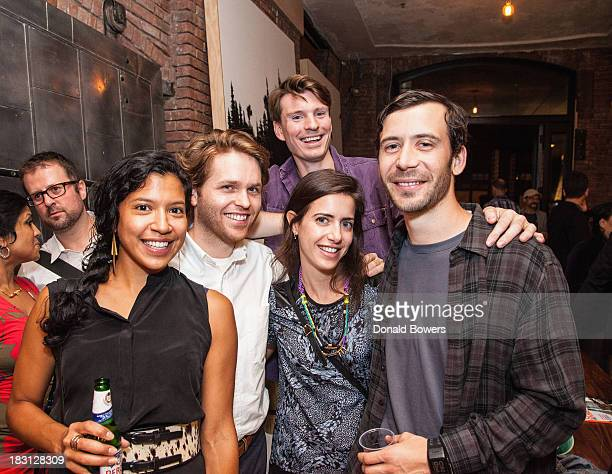 Fahmida Lam Charles Brill Henry Julier Merrill Lyons and Theo Richardson attend The CITY MODERN Presented By New York And Dwell Magazines Host Made...