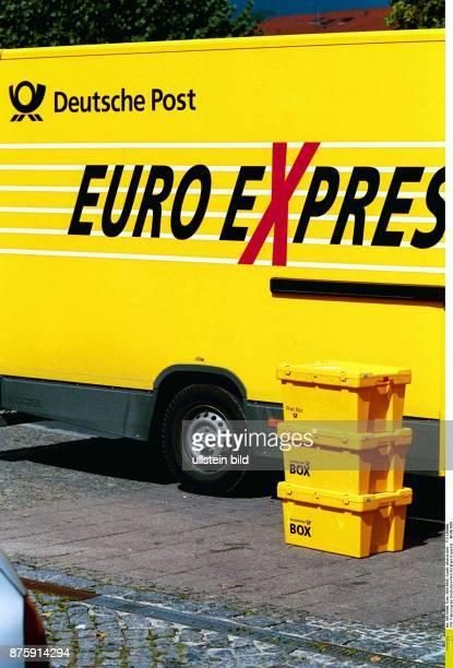 Fahrzeug der Deutschen Post AG