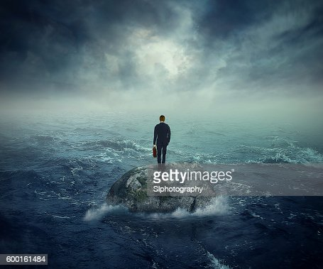 Failure crisis concept lost business career education opportunity : Stock Photo