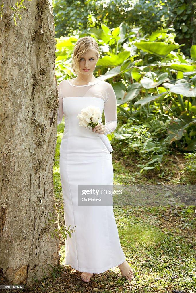 fair bride : Stock Photo