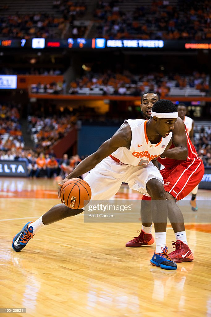 <a gi-track='captionPersonalityLinkClicked' href=/galleries/search?phrase=C.J.+Fair&family=editorial&specificpeople=7366451 ng-click='$event.stopPropagation()'>C.J. Fair</a> #5 of Syracuse Orange cuts towards the basket during the first half of a basketball game against St Francis Terriers on November 18, 2013 at the Carrier Dome in Syracuse, New York.