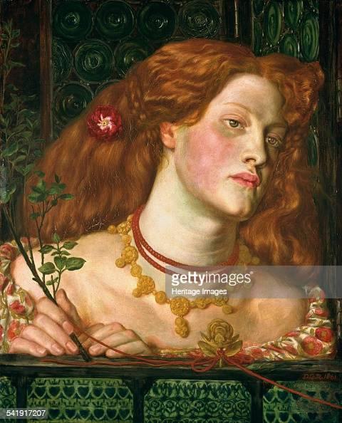 Fair Rosamund Clifford' 1861 Artist Dante Gabriel Rossetti